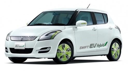 Suzuki Swift Suzuki Swift Ev Hybrid Elektrisch Rijden Met Range Extender