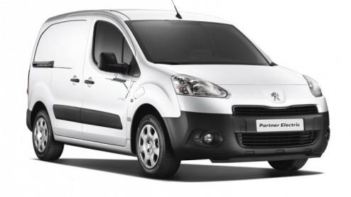 Peugeot Partner Elektrische Peugeot Partner Aan De Bak