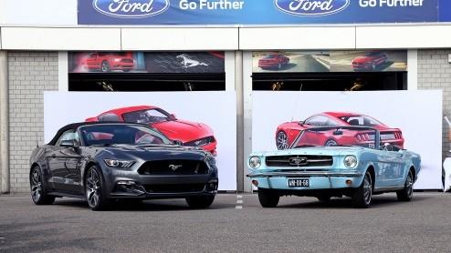 ford mustang 50 jaar 50 jaar Ford Mustang feestje op Circuit Park Zandvoort in beeld ford mustang 50 jaar