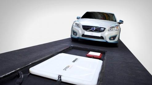 Volvo C30 Draadloos Opladen Elektrische Auto In 2 5 Uur