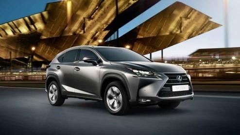 Lexus NX - Exclusieve preview nieuwe Lexus NX 300h