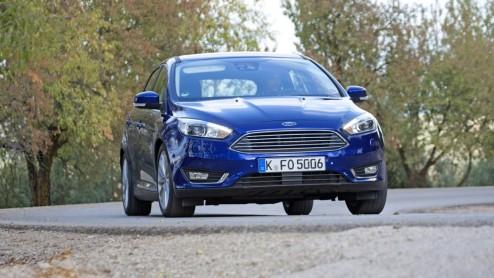 Facelift Ford Focus stilt de trek