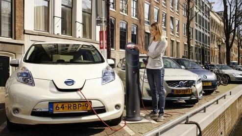 Nissan Leaf Oplaadpunt Voor Thuis En Op Het Werk Bij Aanschaf