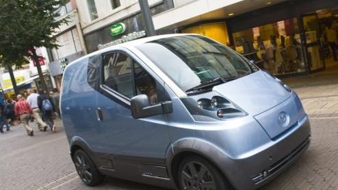 Nieuw Nederlands Automerk Quicc Presenteert Elektrische Bestelauto