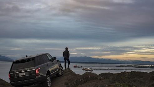 Range Rover in spectaculaire landschappen