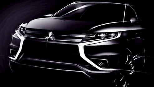 Autonieuws: Sportieve Mitsubishi Outlander PHEV Concept S