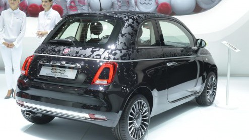 Vernieuwde Fiat 500 In Geuren En Kleuren Op Iaa