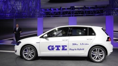 Volkswagen Golf Volkswagen Golf Gte Eind September In Nederland