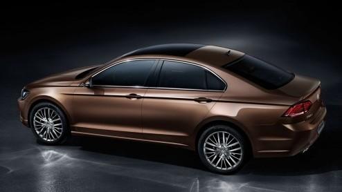 Autonieuws: Volkswagen Lamando is New Midsize Coupé