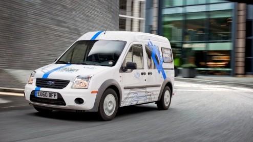 Ford Ford Transit Connect Naar Europa Eerste Exemplaren Voor