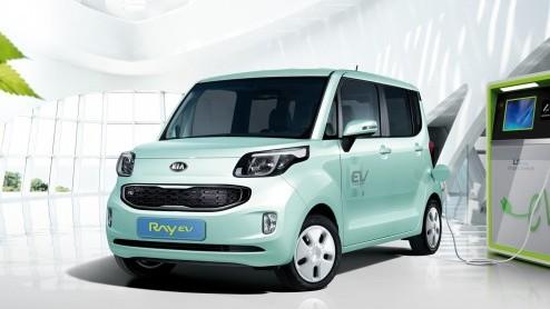 Kia Debuut Elektrische Kia Ray Voor Korea