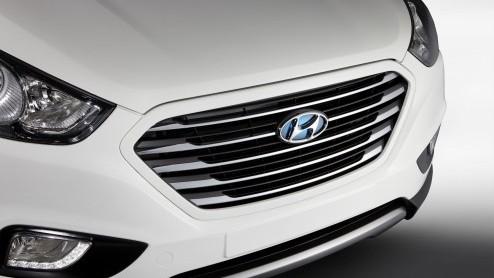 Hyundai Ix35 - Kwartet nieuwe Hyundai i-modellen op de rol
