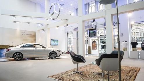 Mercedes Benz Cla Mercedes Benz Opent Mb Store In Den Haag