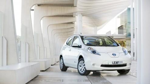 Renault Leaf Renault Nissan Bereikt Mijlpaal Verkoop Elektrische