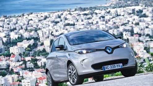 Renault Zoe Autotest Renault Zoe Elektrisch Rijden Met Een