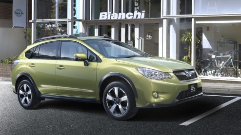 Subaru Xv Subaru Gaat Hybride Met Xv Hybrid