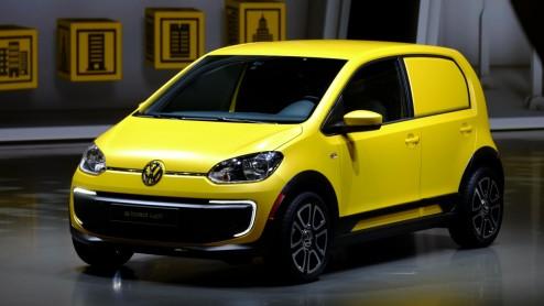Volkswagen Up Volkswagen Cargo Up Als Elektrische Bedrijfswagen E