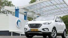 Hyundai ix35 op waterstof heeft prijs