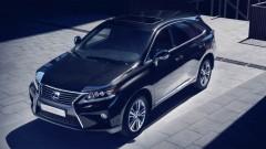 Lexus RX 450h naar de top als Hybrid Tech Edition