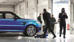 Range Rover Sport SVR op bezoek voor 192.400 euro