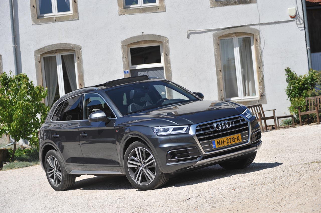 Audi Q5 Afbeeldingen Afbeelding 1 Van Audi Zet Met