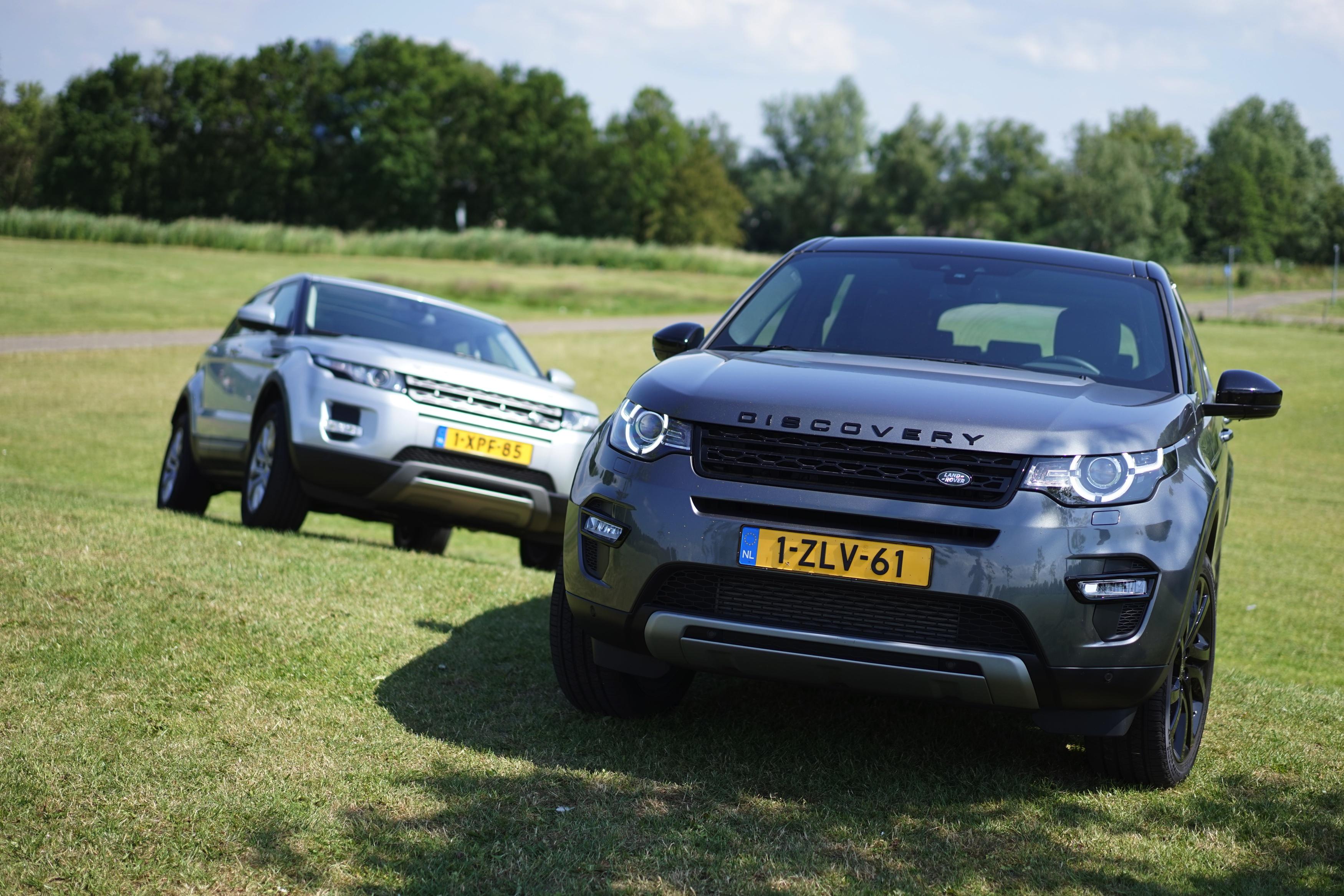 Range Rover Evoque Discovery Sport Afbeeldingen
