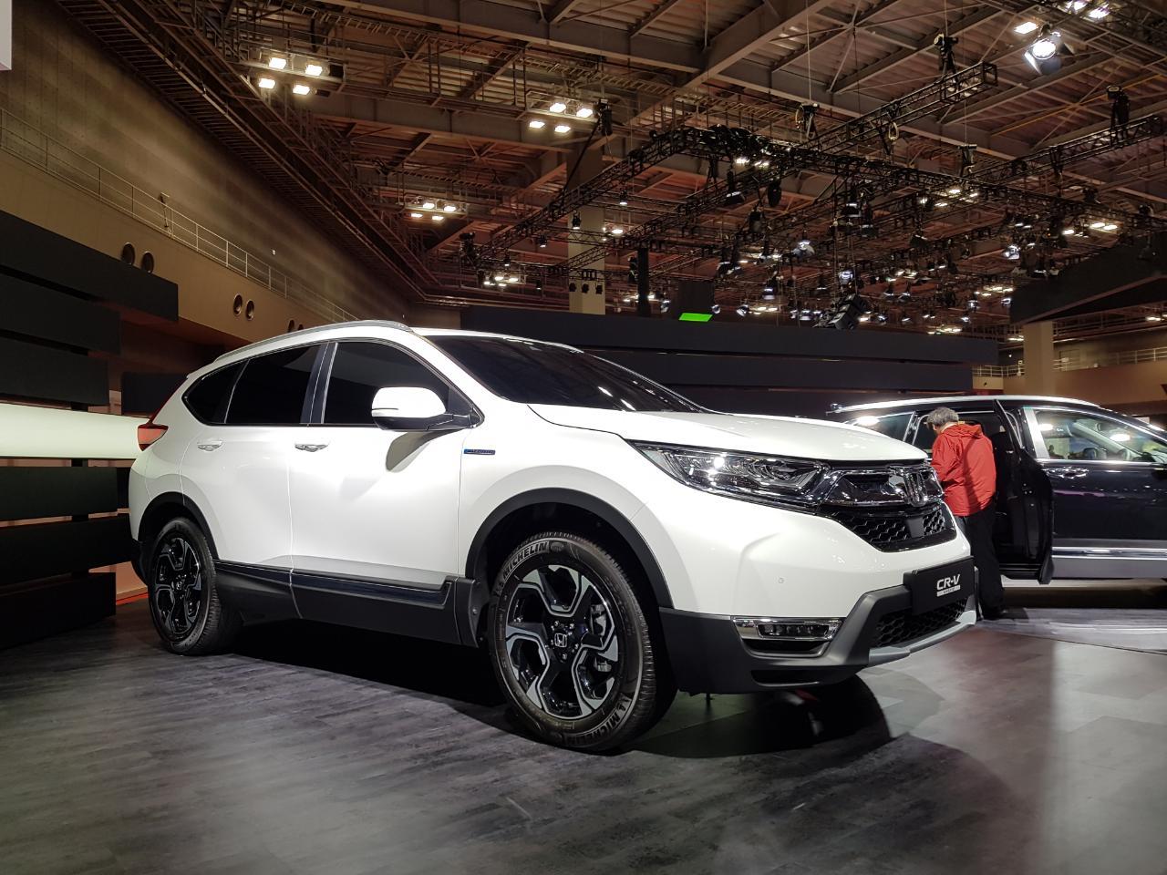 Honda Cr V Afbeeldingen Afbeelding 2 Van Honda Ziet