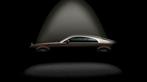 Rolls-Royce gaat op de Autosalon van Geneve groots uitpakken met de Wraith.