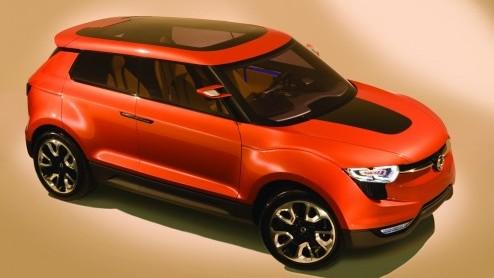SsangYong versterkt hun comeback met een nieuw studiemodel, de XIV-1 Concept. Het studiemodel toont een realistische visie op een toekomstige, compacte crossover van het merk.