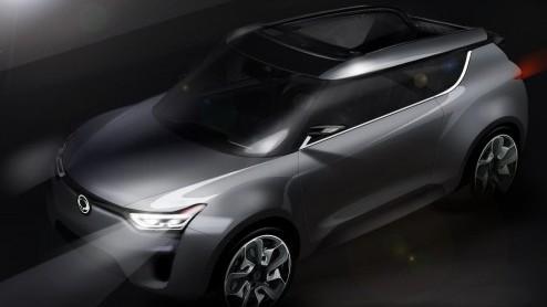 De nieuwe conceptcar van Ssangyong heet XIV-2 en zal op de aankomende autosalon van Gen�ve worden onthuld. Het is een vervolg op de XIV-1 Concept die het afgelopen najaar zijn debuut maakte op de IAA