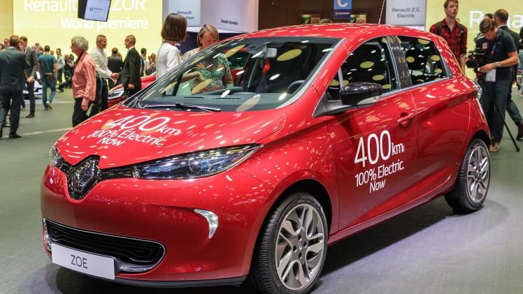 Renault Zoe Accu Upgrade Renault Zoe Onderweg