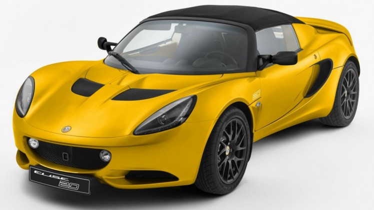 lotus elise extra licht en geel lotus elise 20th anniversary special edition. Black Bedroom Furniture Sets. Home Design Ideas