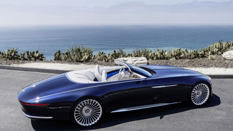 mercedes benz mercedes maybach vision 6 cabriolet ultieme luxe. Black Bedroom Furniture Sets. Home Design Ideas