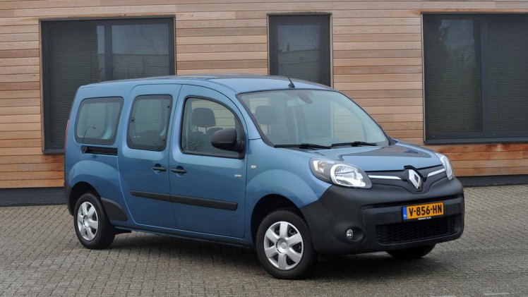 Renault Kangoo Autotest Renault Kangoo Elektrisch Voor Zaak En Gezin