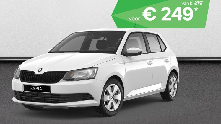 skoda rapid skoda stunt met voordeel op private lease. Black Bedroom Furniture Sets. Home Design Ideas