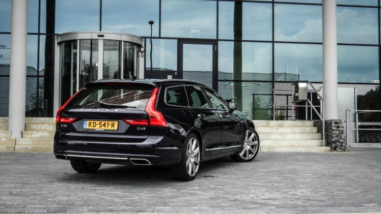 Volvo V90 Autotest Volvo V90 D4 Inscription Leider In