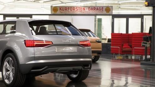 Nieuwe Audi Q7 pakt het helemaal anders aan, zowel qua design als techniek. Door gebruik van aluminium zo'n 300-400 kg lichter dan voorganger.